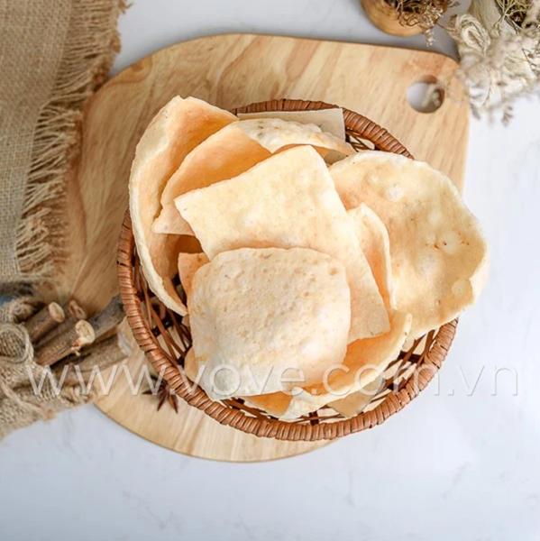 Cách chiên bánh phồng tôm Nguyên Trân