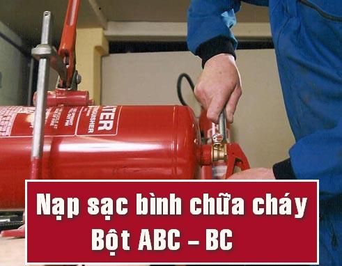 nap sac binh chua chay bot ABC BC