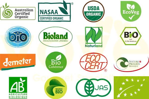 Các chứng nhận hữu cơ Organic trên thế giới