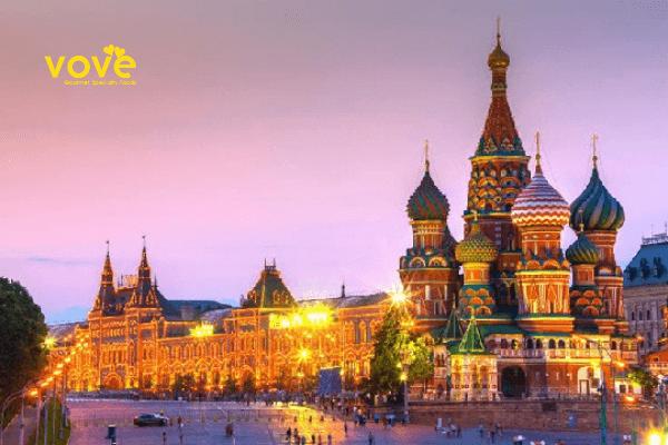 Top 5 món ăn khi đi du lịch Nga nhất định chúng ta phải thử