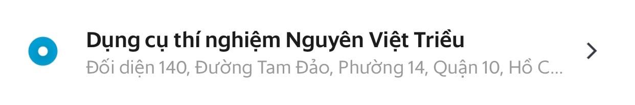 Grab Nguyên Việt Triều