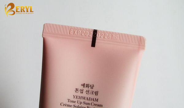 Kem chống nắng The Face Shop Yehwadam Tone Up Sun Cream SPF50+ PA+++.