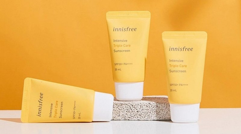 Kem Chống Nắng Innisfree Intensive Triple Care Sunscreen 50ml