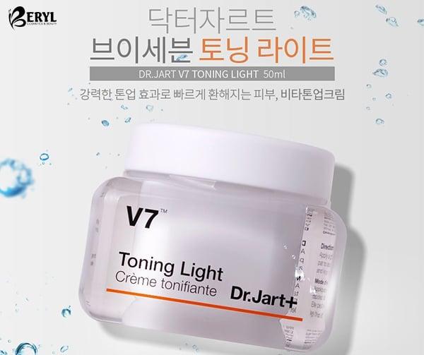 Kem dưỡng trắng da V7 Tonning Light Dr.Jart+ chính hãng Hàn Quốc