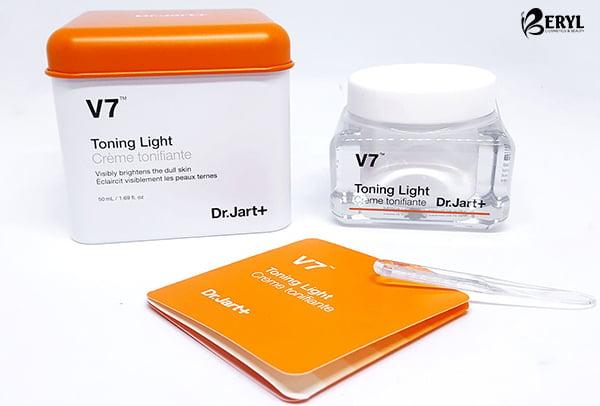 Kem-duong-trang-da-tri-nam-V7-Tonning-Light Dr.Jar-chinh-hang-han-quoc-