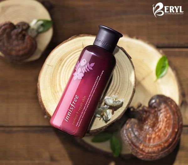 Nước hoa hồng chống lão hóa Innisfree Perfect 9 Repair Skin Ex