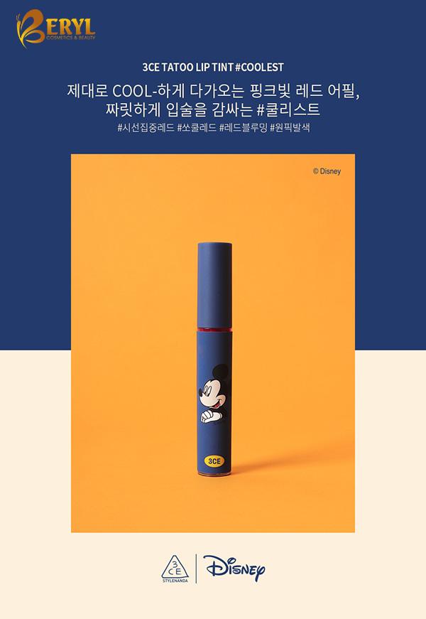 Son-3CE-Disney-Mickey-mau-xanh-duong-phien-ban-gioi-han-600-