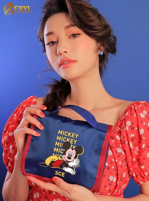 Son 3CE Disney Mickey -Mousse Màu Xanh Dương Phiên Bản Giới Hạn