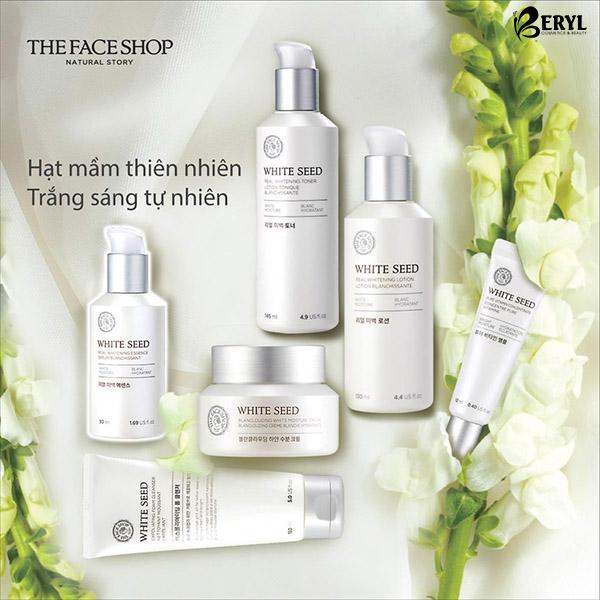Sữa rửa mặt trắng da The Face Shop White Seed Exfoliating Foam Cleanser 150ml
