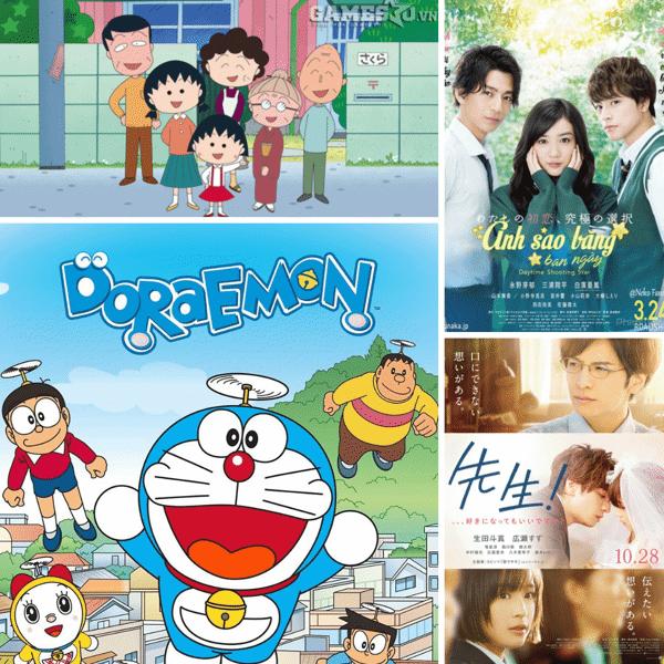 Anime phù hợp với việc học tiếng Nhật