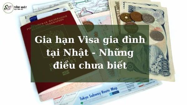 Gia hạn visa gia đình