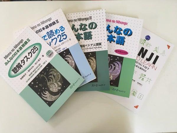 Combo bộ sách N4 + Kanji