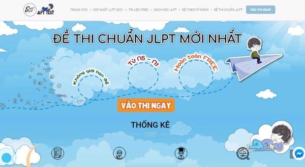web đề thi jlpt test