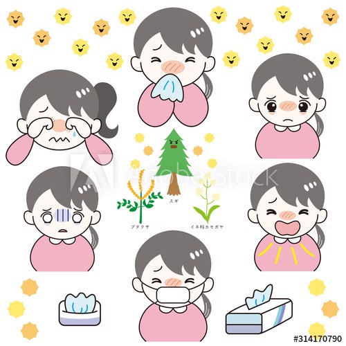 triệu chứng của dị ứng phấn hoa