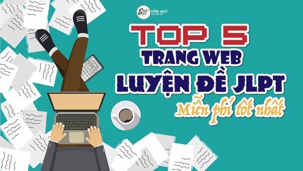 top web luyện đề JLPT