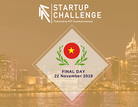 Cuộc thi  NTTCom Startup Challenge 2018