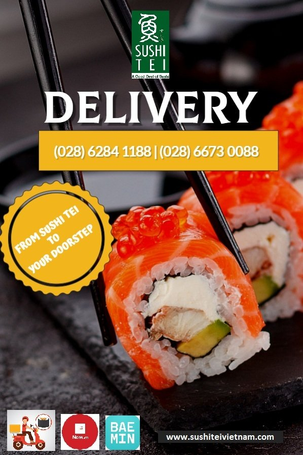 FROM SUSHI TEI TO YOUR DOORSTEP