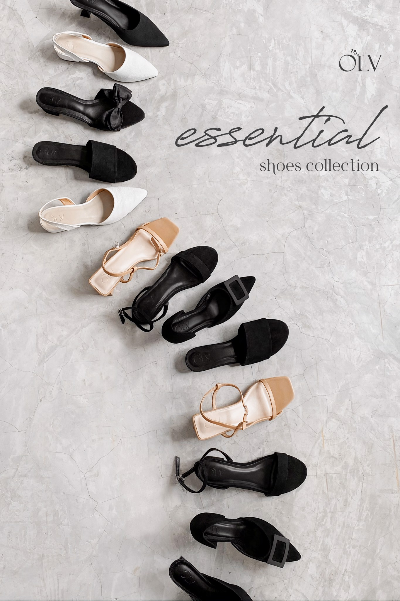 olv essential shoes
