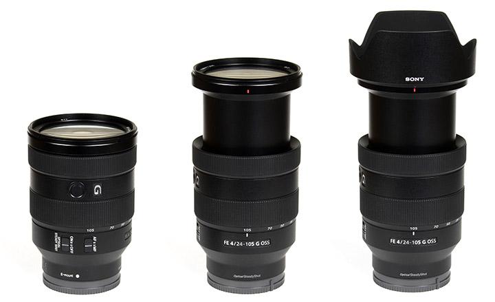 Đánh giá chi tiết ống kính siêu kit SEL 24-105mm F/4 G OSS