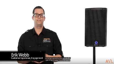 TURBOSOUND iQ8 Powered Loudspeaker Overview