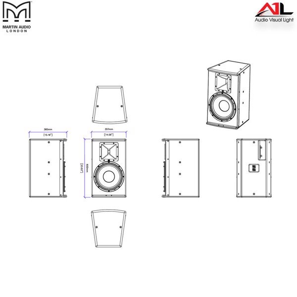 Loa Martin Audio S12