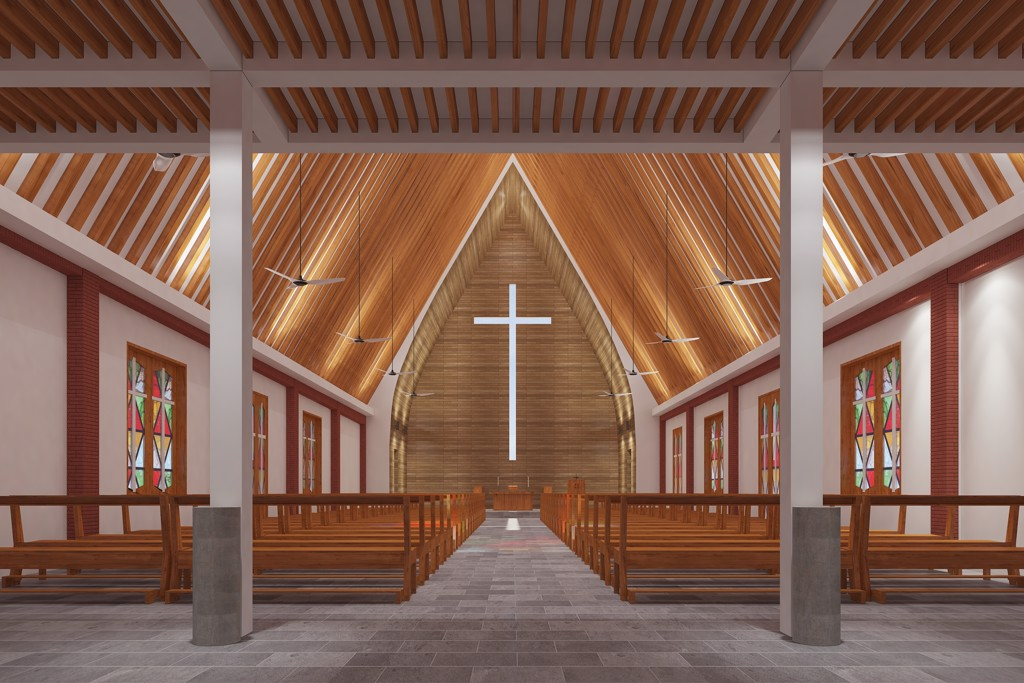 Dai Thang Church Design