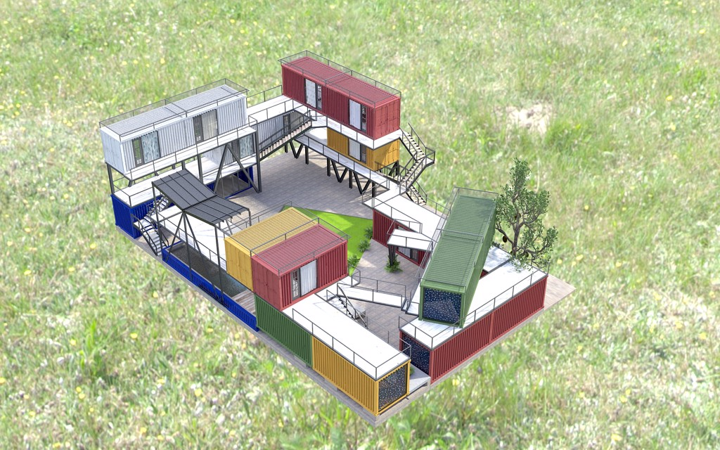 Lofica Home Stay - Container Design