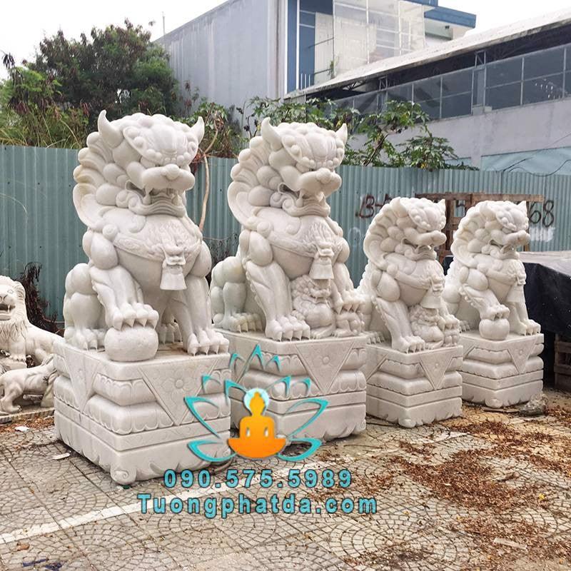 Tượng kỳ lân đá mỹ nghệ Song Toàn