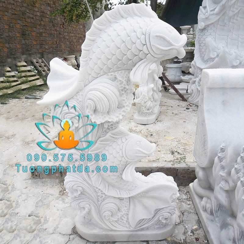 Cá chép đá cưỡi sóng đá trắng non nước Đà Nẵng