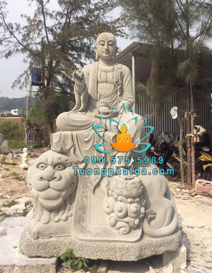 Tượng địa tạng đá sa thạch đẹp tại Sài Gòn