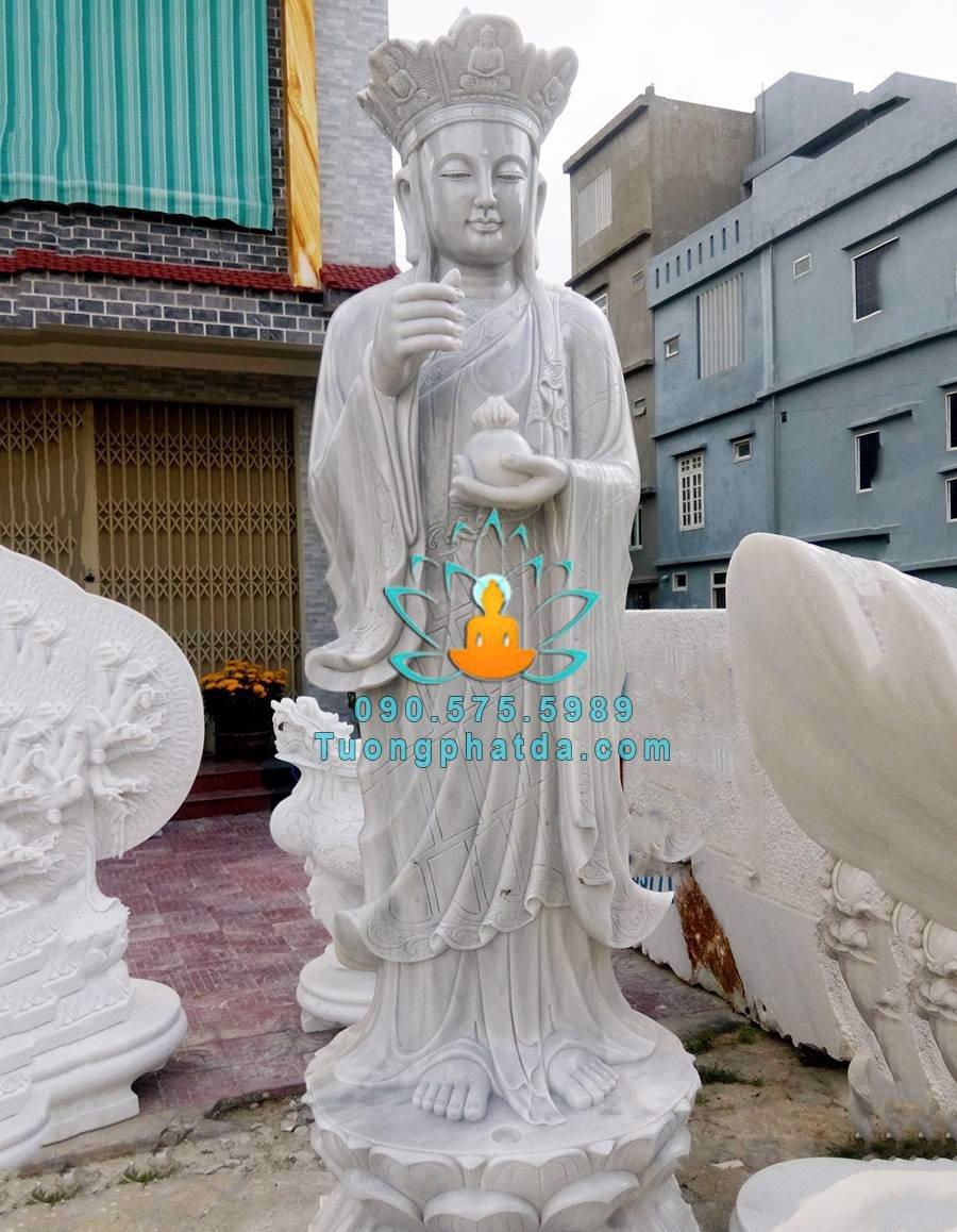 Mẫu tượng phật địa tạng vương bồ tát đá đẹp