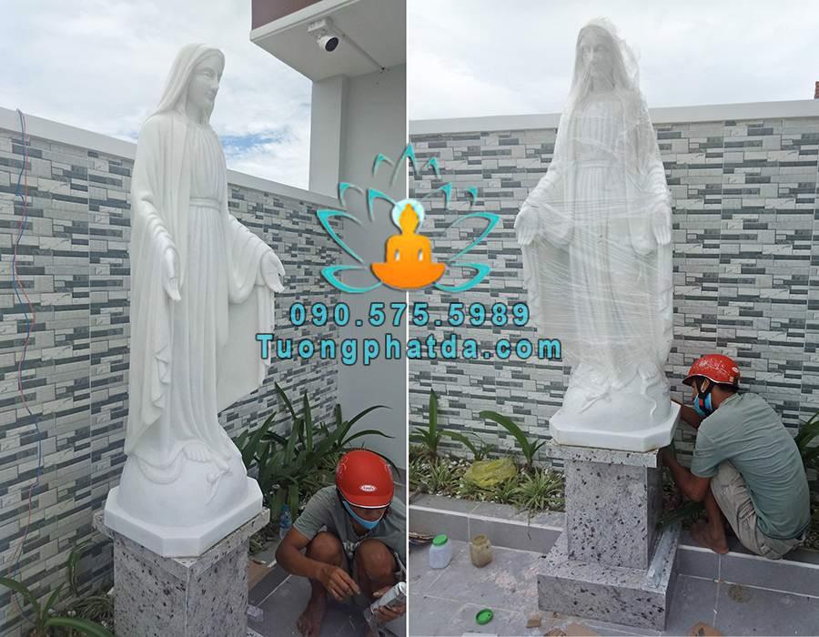 Tượng đức mẹ maria bằng đá đẹp đà nẵng