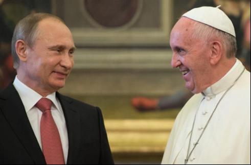 Tổng Thống Putin nước Nga gặp Đức Thánh Cha Phanxicô tại Vatican