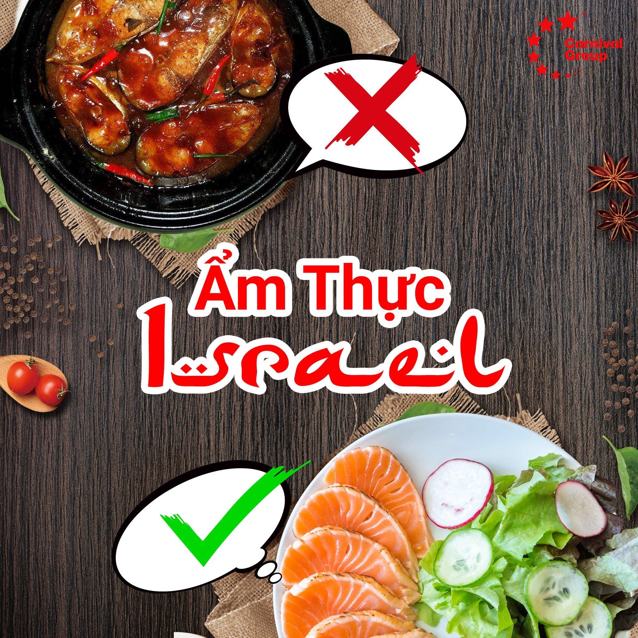 Quy chuẩn trong ăn uống của người dân Israel theo quy tắc kosher
