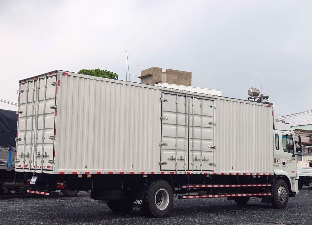 xe tải jac thùng container