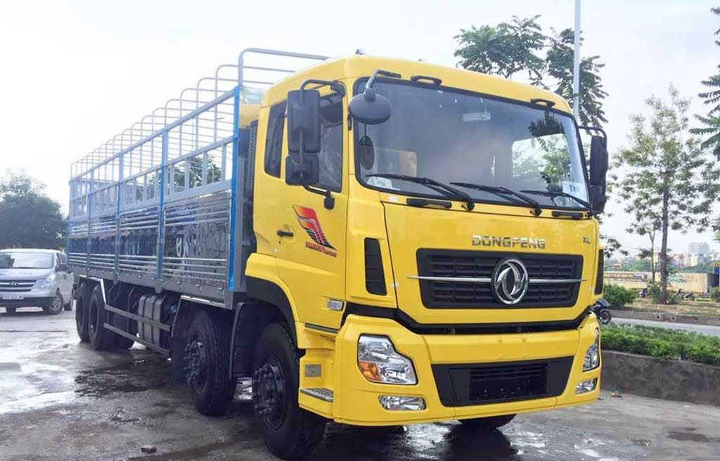 xe tải dongfeng hoàng huy 4 chân