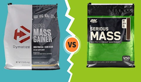 So sánh Serious Mass và Super Mass Gainer