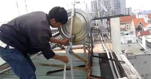sửa chữa bảo hành máy nước nóng năng lượng mặt trời