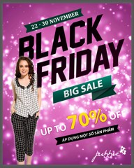 BLACK FRIDAY - BIG SALE UP TO 70%