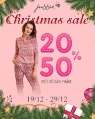 CHRISTMAS SALE 20-50%OFF