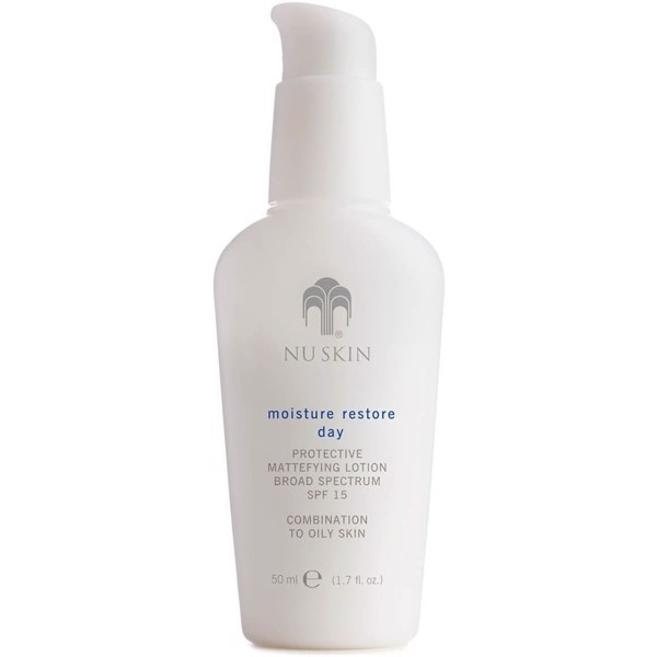 Moisture restore day protective mattefying lotion spf 15