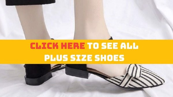 plus size shoes