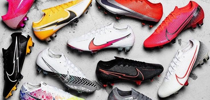 Khám phá những đặc trưng riêng biệt của các dòng giày đá bóng của Nike