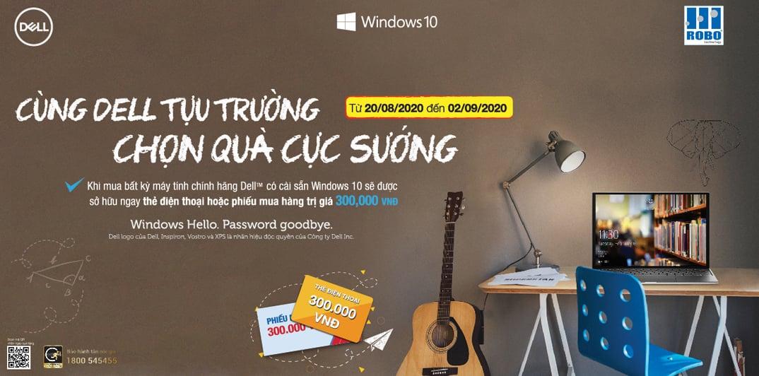 Cùng Dell tựu trường - Chọn quà cực sướng