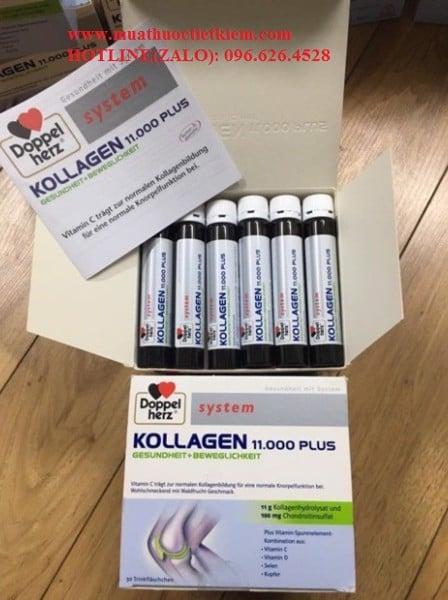 Collagen Thủy Phân Doppelherz Kollagen 11.000 Plus có tác dụng gì