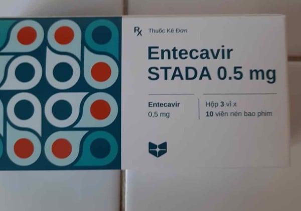 Giá thuốc Entecavir STADA 0,5mg