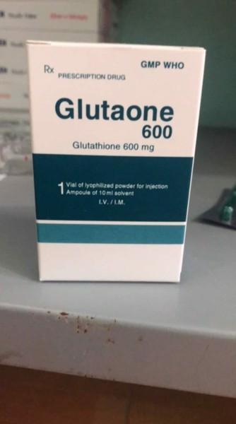 Glutaone 600 là thuốc gì Giá thuốc Glutaone 600 Mua ở đâu