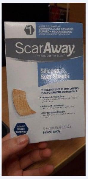 Hướng dẫn sử dụng miếng dán trị sẹo lồi ScarsAway Silicone Scar Sheets