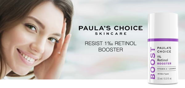 Nuôi dưỡng da từ sâu bên trong với tinh chất 1% Retinol Booster