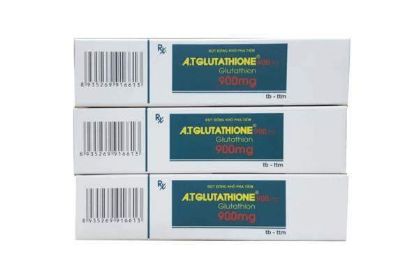 Thuốc tiêm A.T GLUTATHIONE 900mg mua ở đâu Hà Nội, Hồ Chí Minh chính hãng